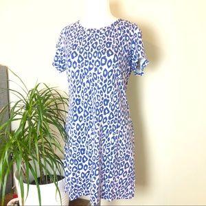 🛍Basement collection blue cheetah print